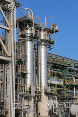 Structure of Petroleum and chemical plant