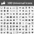 Universal Icon Set. 100 icons