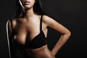 brunette sexy model