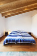 Beautiful modern loft, bedroom, wooden floor