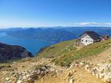 Fototapety Blick auf den Gardasee vom Monte Baldo
