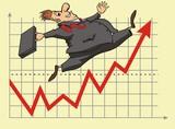 lucky stock market investor poster