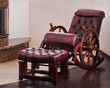 old fashion wooden rocking chair