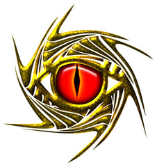 Drachenauge - Drache / Auge - dragoneye