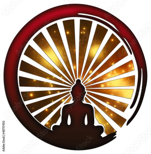 Zen Meditation - Enso Symbol - Buddha - Japan