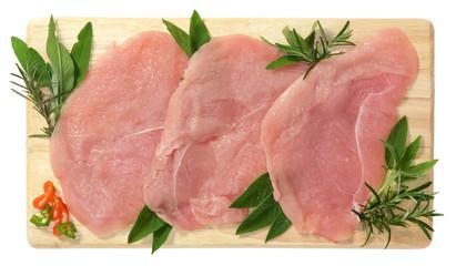 Fette di carne di tacchino - Turkey meat