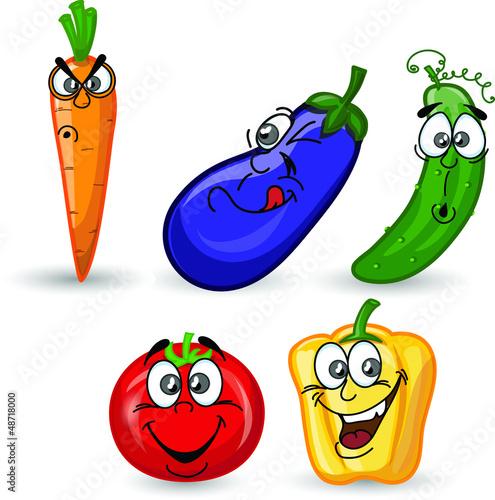 мультфильм овощей