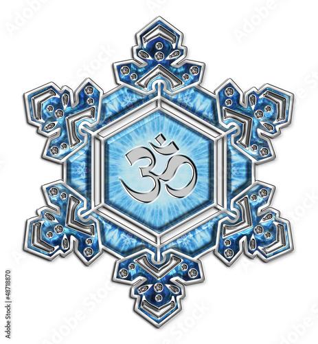 Wasserkristall Dankbarkeit / Om / Emoto