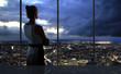 looking at city