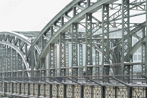 Metal Truss Bridge