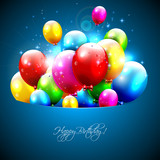 Fototapety Colorful balloons flying out of pocket