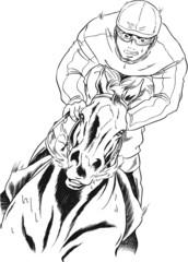 馬とジョッキー001