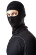 man in black ski mask