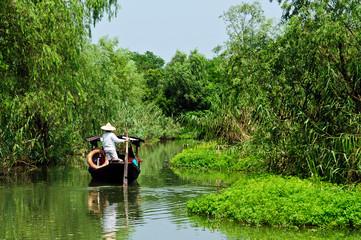 Hangzhou xixi wetland landscape