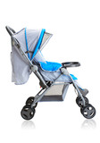 Smooth pram stroller carriage for new baby