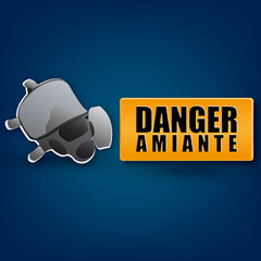 Danger amiante