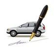 Paperwork for car