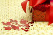 Gift and hearts