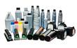 Leinwanddruck Bild - Colour toners for printers