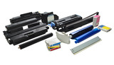 Colour cartridges and spare parts for printers