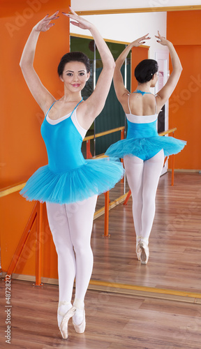 Beautiful young Ballerina