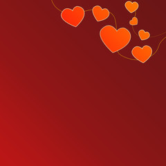 Сердца на золотых нитях