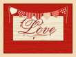 Valentine Love Script Background