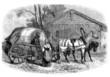 Russian Traditional Cab : Kibitka - 19th century
