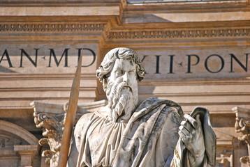 Città del Vaticano - Roma - Statua San Paolo Apostolo