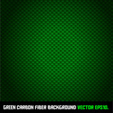 GREEN carbon fiber background VECTOR EPS10.