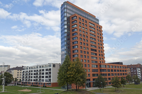 Wohn- und Geschäftshaus in Düsseldorf, Deutschland