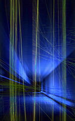 digital line artwork