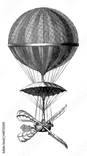 Aerostat - 18th century (1784 - Paris) - 48735245