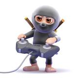 Ninja gamer poster