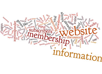 Tips on Improving Your Membership Site Concept