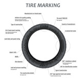 Tire marking scheme