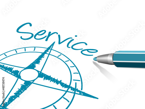 Kompass Stift Service