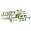 Lifestyle word cloud