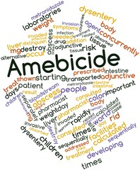 Word cloud for Amebicide