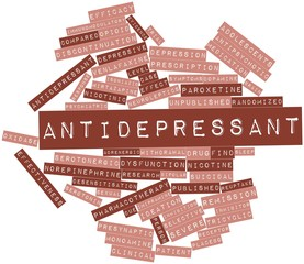 Word cloud for Antidepressant