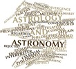Постер, плакат: Word cloud for Astrology and astronomy