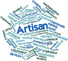 Word cloud for Artisan