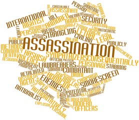 Word cloud for Assassination