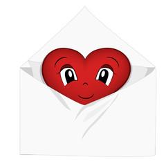 Letterina cuore