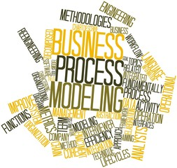Word cloud for Business process modeling