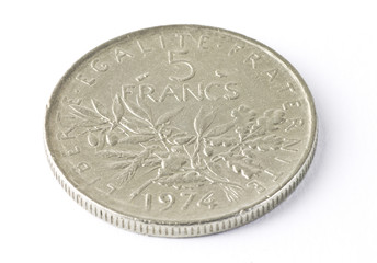 old French coin