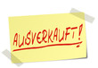 Ausverkauft Post It  #130121-svg05