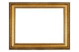 Fototapety Gold frame
