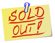 Sold Out Ausverkauft Post It  #130121-svg-06