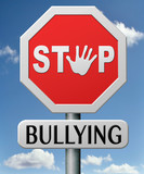 stop bullying poster